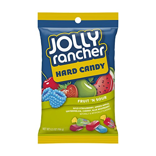 Jolly Rancher Fruit N' Sour Hard Candy in Assorted Fruit Flavors (3.8 Oz Pack) by Jolly Rancher