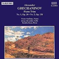 GRETCHANINOV Alexandre Trios pour piano n°1 & 2