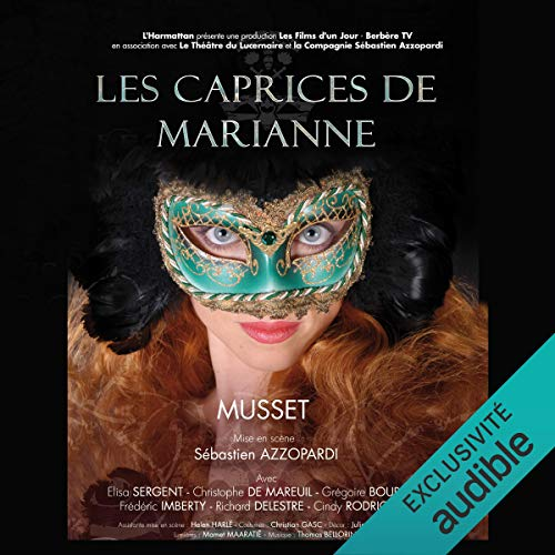 Les Caprices de Marianne audiobook cover art