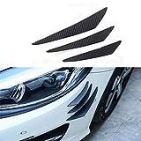 KSUVR Parachoques del Coche Tira de protección Anti-colisión Tira Spoiler decoración, para Nissan Silvia S13 S14 S15 200SX 240SX