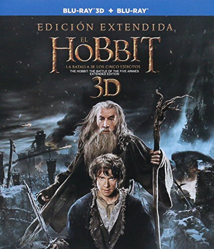 The Hobbit: The Battle of the Five Armies (Extended Edition) (BD3D) [Blu-ray]