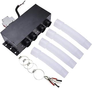 Cuttey 12 V 600 W Auto vehículo Calefactor de Cristal, Potencia en 12 Agujeros de Auto Ventanas para descongelar