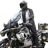 HSGAV Bicicleta Impermeable Chubasquero Ciclismo Reflexivo Respirable Ropa Ciclismo Running Abrigo Lluvia Chaqueta Poncho con Funda para Zapatos Y Bolsa De Almacenamiento,B,M