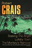 "Three Great Novels: ""Stalking the Angel"", ""Lullaby Town"", ""The Monkey's Raincoat"""