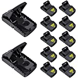 12Pack Mouse Traps Rat Trap, Reusable Mice Traps for House and Outdoor