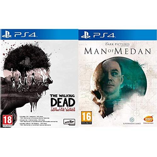 The Walking Dead Intégrale & The Dark Pictures - Man of Medan pour PS4