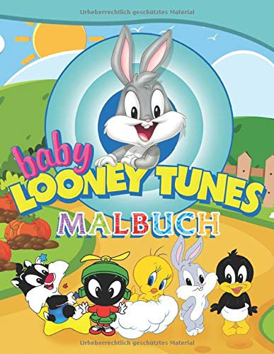 Baby Looney Tunes Malbuch: Malbuch Mit Wunderbaren Bildern Für Kinder