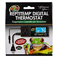 Zoo Med ReptiTemp RT-600 Digital Thermostat Controller, Black