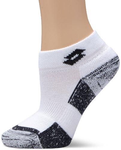 Lotto Damen Sock Pro W, White/deep Navy, 2