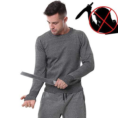 TBDLG Chaleco Ligero de puñalada, Fuerza elástica Camiseta funcionales Seguridad Gilet, con protección para el Cuerpo Hombres Mujeres Policía,XL