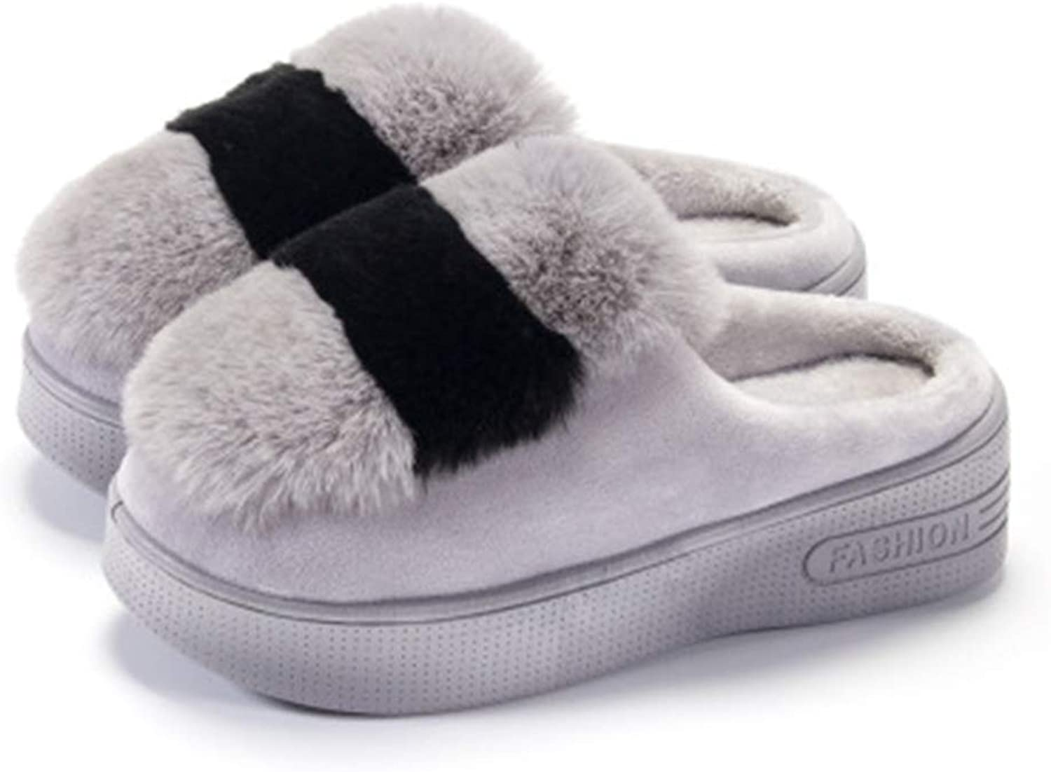 Eleganceoo Womens Slipper, Fluffy House Slippers Clog Soft Indoor Outdoor Winter Slipper