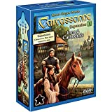 Carcassonne Inns & Cathedrals Board Game EXPANSION 1   Family Board Game   Board Game for Adults and Family   Strategy Board Game   Medieval Adventure Board Game   2-6 Players   Made by Z-Man Games