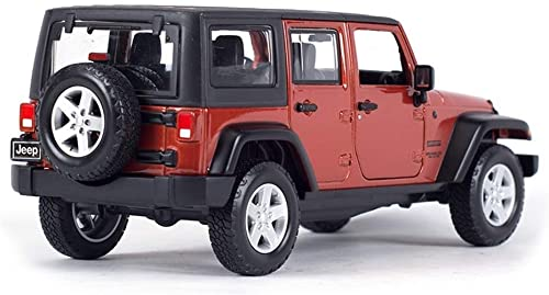 ahorra hasta un 80% AGWa Modelo a escala Vehículo de simulación Diecast Metal Metal Metal Jeep Coche de cuatro puertas Vehículos de simulación Modelo de coche de aleación Niños Niños Niños Regalo  Compra calidad 100% autentica