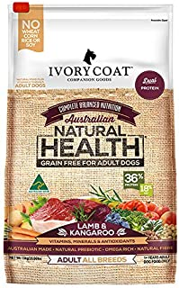 Ivory Coat Adult Lamb & Kangaroo 13kg Grain Free Dog Food