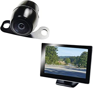 """BOYO Vision VTC175M - Vehicle Backup Camera System with 5"""" Monitor and License Plate Backup Camera for Car, Truck, SUV and..."""