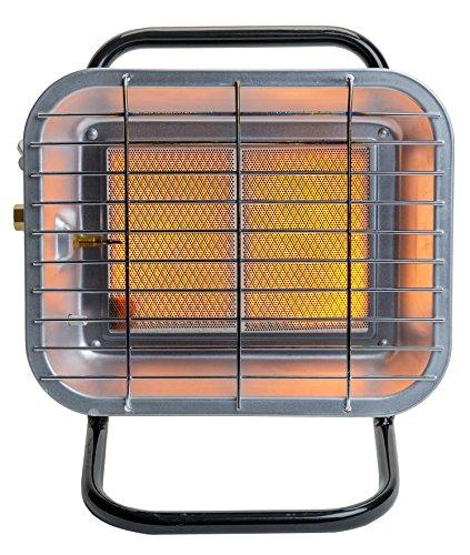 Thermablaster 15,000 BTU Infrared Portable Heater, Black