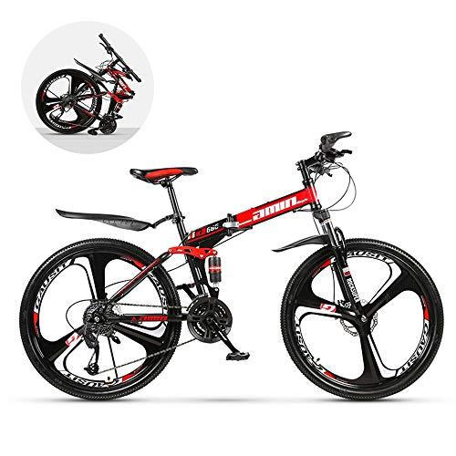 GWSPORT Vélo de Montagne Se Pliant vélo de Vitesse de Pneu d'usure de Pneu d'absorption de Choc de...