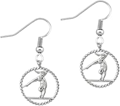 Infinity Collection Gymnastics Earrings - Gymnastics Earrings for Gymnast