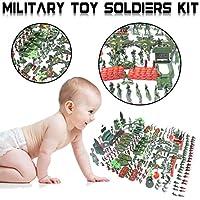 Envisioni 個 兵士のおもちゃ 手榴弾タンク航空機ロケット軍男性砂のシーンモデル子供のおもちゃキットフィギュアアクセサリープレイセット dependable