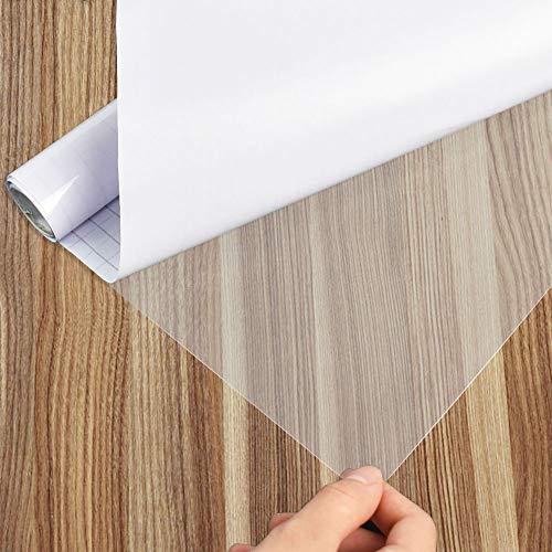 Selbstklebende Folie, Wandschutzfolie, KüChe Spritzschutz Transparente Folie 30x200cm, Wasserdichtes Klebefolie Zum Schutz Von MöBeln, Fliesen Und Tischplatten, Transparente Klebefolie