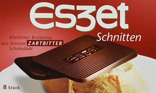 Eszet Schnitten Zartbitter, 20er Pack (20 x 75 g)