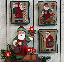 Santas Revisited III Cross Stitch Chart and Free Embellishment