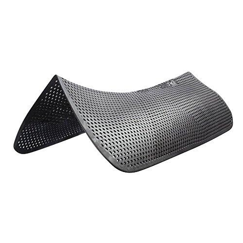 Acavallo Active Soft Gel Pad Light Weight, Anti Rutsch Pad Unterlage zum Reiten. Größe: OneSize, Farbe:schwarz