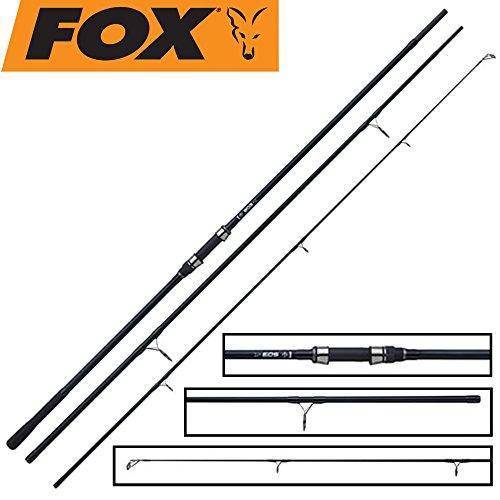 FOX EOS Abbreviated Handle 12ft 3lbs - Karpfenrute zum Karpfenangeln, Angelrute für Karpfen, Karpfenruten, Karpfenangelrute