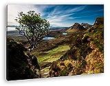 deyoli wunderschöne Landschaft mit Bergen in Schottland