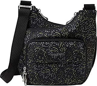 Baggallini Criss Cross Bagg - Lightweight Travel Purse with Zippered Interior and Exterior Pockets