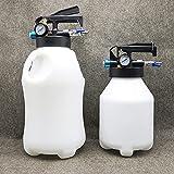 EnweMahi Neumático Cambiador Aceite Transmisión,Bomba Combustible Automática,Alta Capacidad,Flujo Regulable con 13 Adaptador,Tubo Salida Aceite/Tubo Aspiración,6L