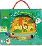 Vilac - Puzzles Los Animales del Zoo (2642)