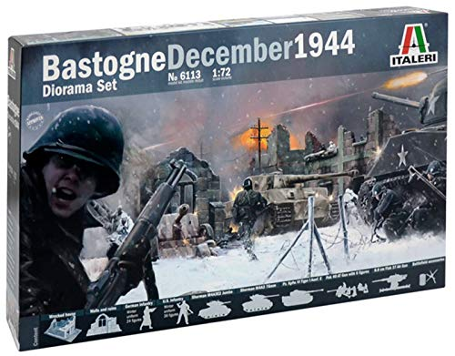 Italeri 6113 - WWII: Bastogne December 1944 (Diorama Set) Model Kit Scala 1:72