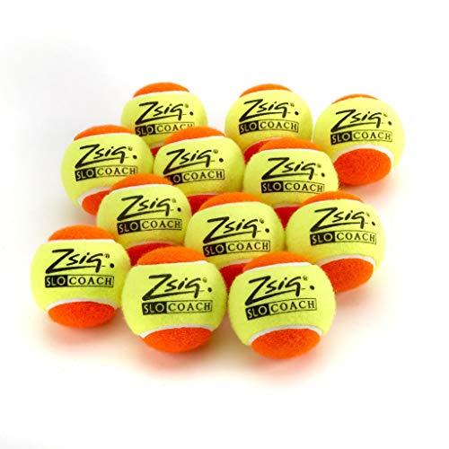 Zsig - Mini Pelotas de Tenis para niños, Color Naranja