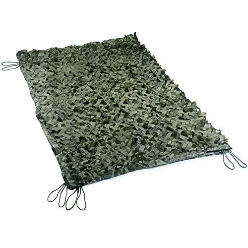ZHANGYUQI Camo Shade Sun Netting, Sombra Protector Solar Toldos Malla Solar Lona Camuflaje Velas Adecuado Cubiertas Plantas Automóviles con Balcón Color Verde Múltiples Tamaños (Size : 5 * 6M)