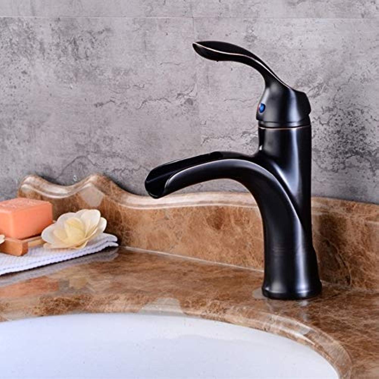 Lddpl Neues Design Antik Messing Wasserhahn Nickel Gebürstet Bad Wasserhahn Schwarz Und Chrom Waschtischarmatur
