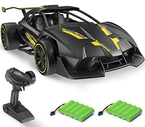 DoDoeleph Ferngesteuertes Auto, RC Auto, 1/14 Maßstab, Speed 15km/h, Auto Spielzeug mit Fernbedienung, Spielzeug Auto für Kinder Mädchen Jungen ab 4 5 6 Jahre Draußen