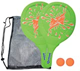 Schildkröt Fun Sports 970219 Jeu de Raquettes Plage, Vert/Orange