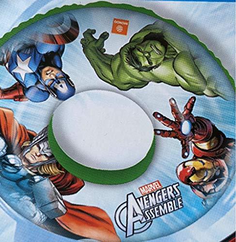 Flotador de los Vengadores de Marvel de 50 cm de diámetro para playa, piscina y piscina