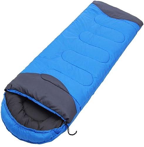 gran selección y entrega rápida HUBINGRONG Tipo de sobre de Saco de Dormir de de de Viaje al Aire Libre para Viajes de Acampar para Adultos Oficina de Descanso para Acampar (Color   rojo)  servicio honesto