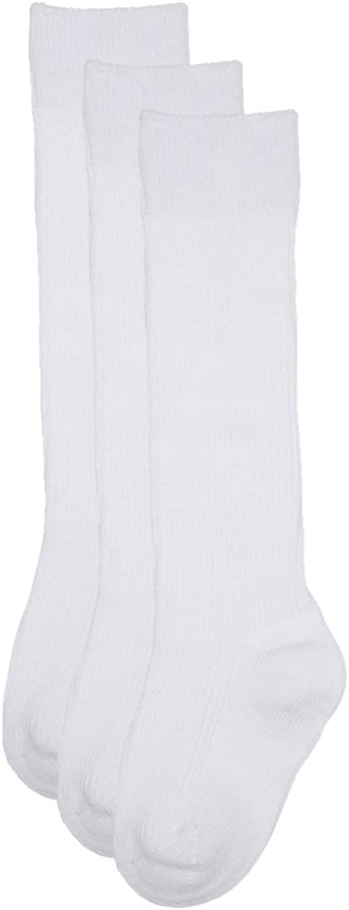 Trimfit Baby Girls Cotton 1X1 Rib (Comfortoe) Socks 3-Pack