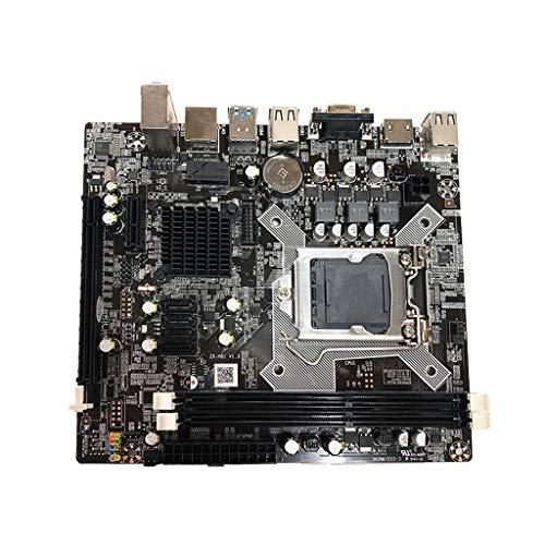 SHUIXIN -Nueva placa base H81 1150 pines Ddr soporte Core 4ª generación I3 I5 Quad-Core Cpu