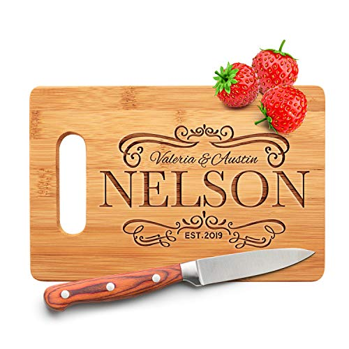 """Personalized Cutting Board - 9 Designs 