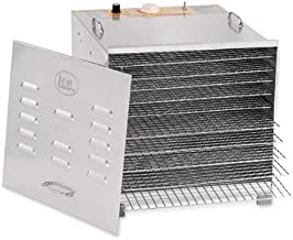 Stainless Steel 10 Tray Dehydrator With Chrome Plated Trays