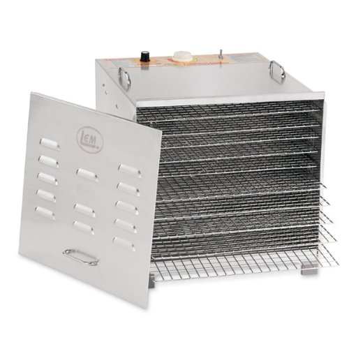 Fantastic Prices! Stainless Steel 10 Tray Dehydrator With Chrome Plated Trays