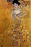 Retrato De Adele Bloch De Gustav Klimt, Poster E Impresiones, Cuadros De Arte De Pared Famosos, Cuadros De Lienzo Famosos, Salon De Estar, Decoracion del Hogar, 60x80 Cm, Sin Marco