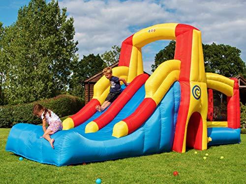 BeBoP Kamikaze Bouncy Castle and Double Slide