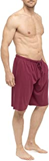 Tom Franks Twin Pack Cotton Jersey Lounge Shorts (Red/Black, XX-Large)