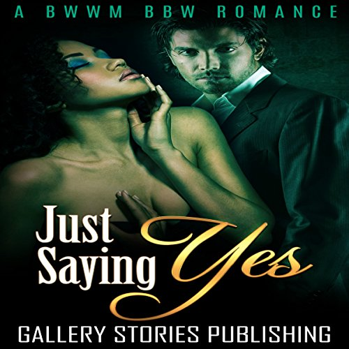 Just Saying Yes audiobook cover art