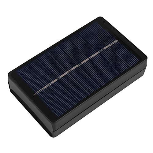 Best-ycldcyp 1W 4V Portable Solar Panel Chager Charging Box for AA/AAA Battery Camping Outdoor Activities Travel Charger Black